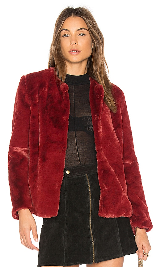 Heidi Faux Fur Jacket