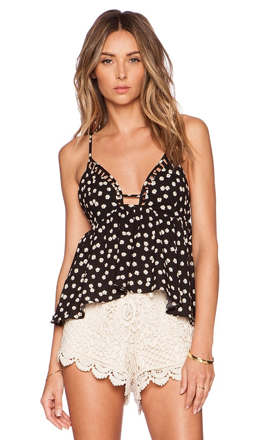 WYLDR Sunset Top in Ditzy Floral