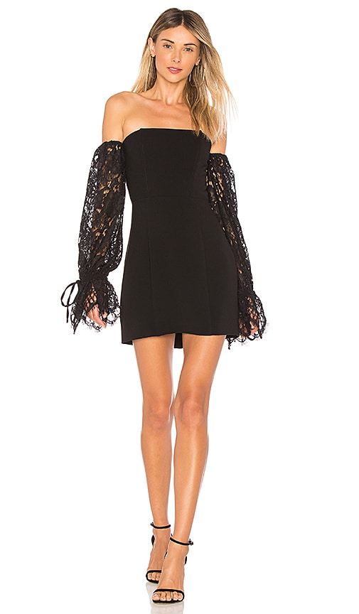 X by NBD Mimi Dress in Black
