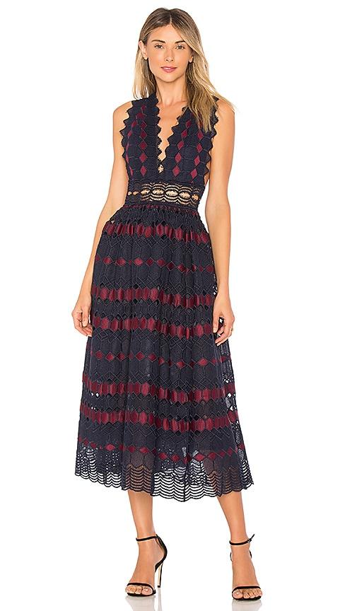 X by NBD Adalynn Dress in Navy