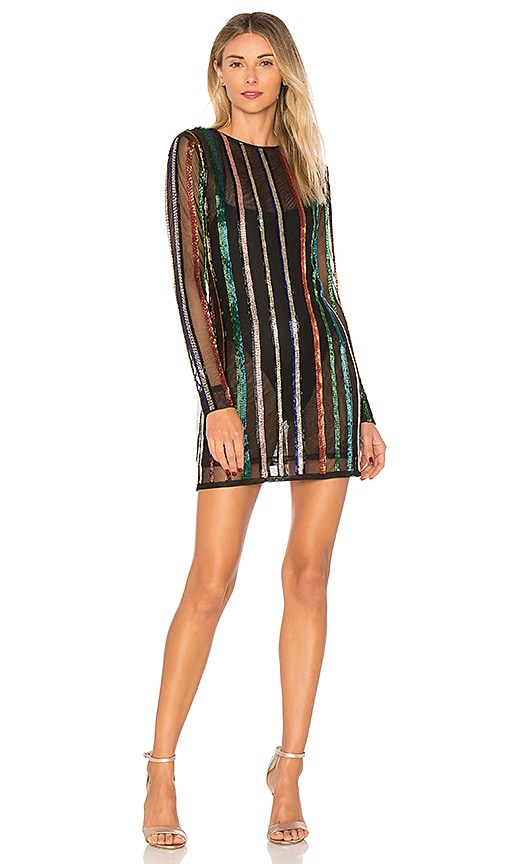 X by NBD Troy Dress in Black