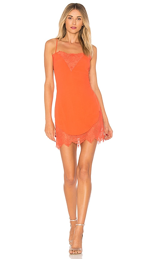 X by NBD Kennedy Dress in Orange