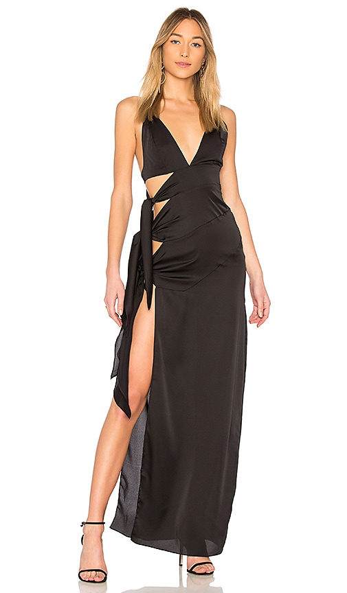 Que Onda Gown in Black. - size S (also in M,XS) NBD