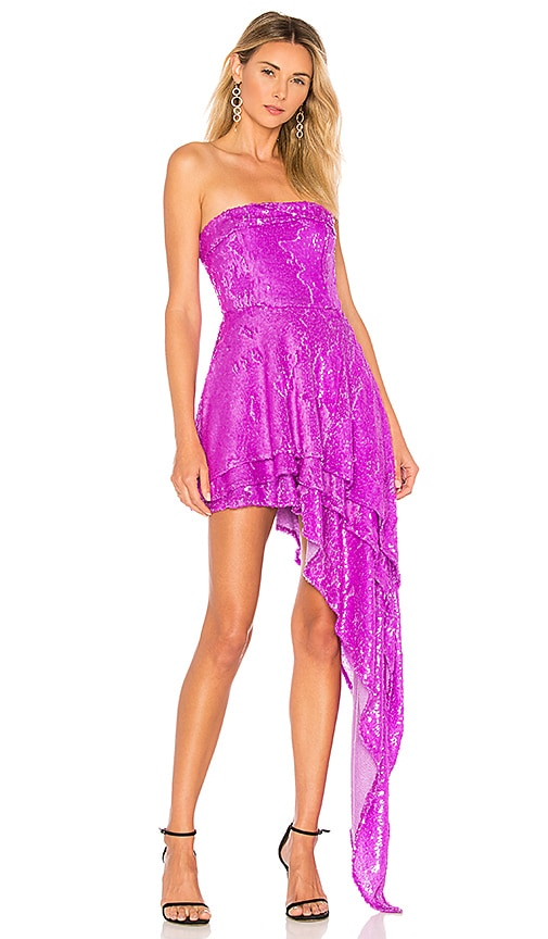 X by NBD Candy Dress in Purple