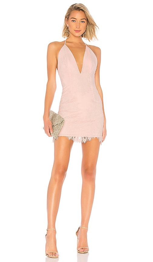 7a06eb859194 X by NBD O.V.G. Mini Dress in Light Pink | REVOLVE
