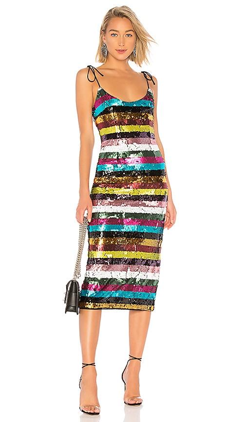 Desdemonda Embellished Midi Dress