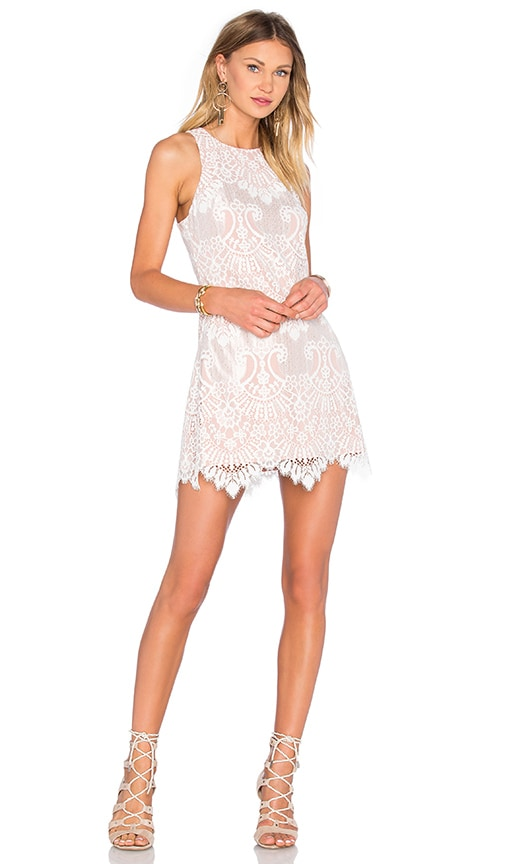 X by NBD Vera Dress in White