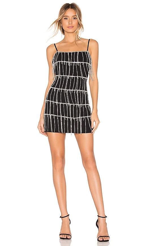 Caroline Embellished Mini Dress