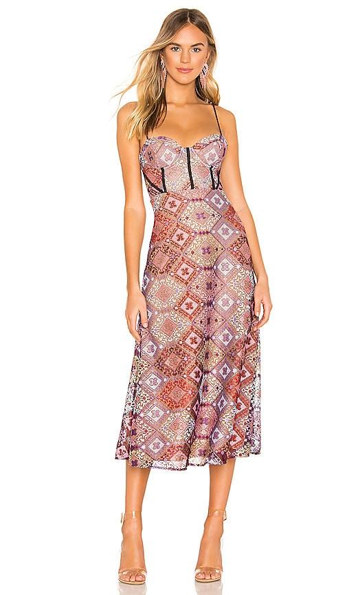 Delylah Midi Dress
