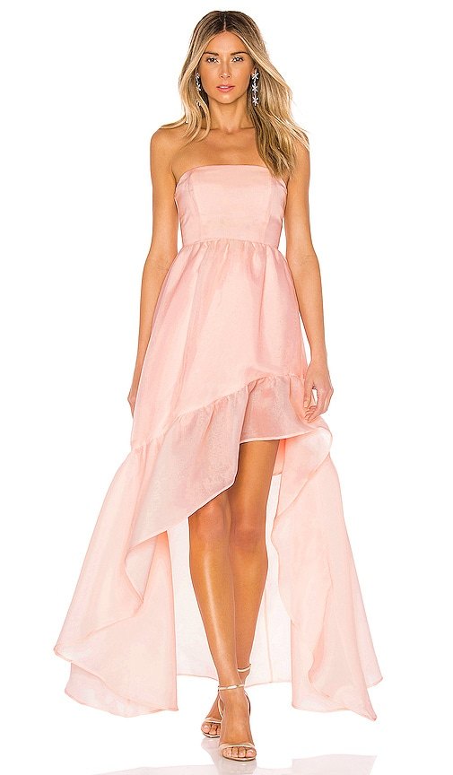bce80d851e3b X by NBD Carmelita Gown in Light Pink | REVOLVE