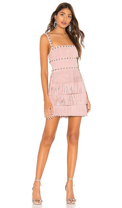 Dusty Suede Mini Dress