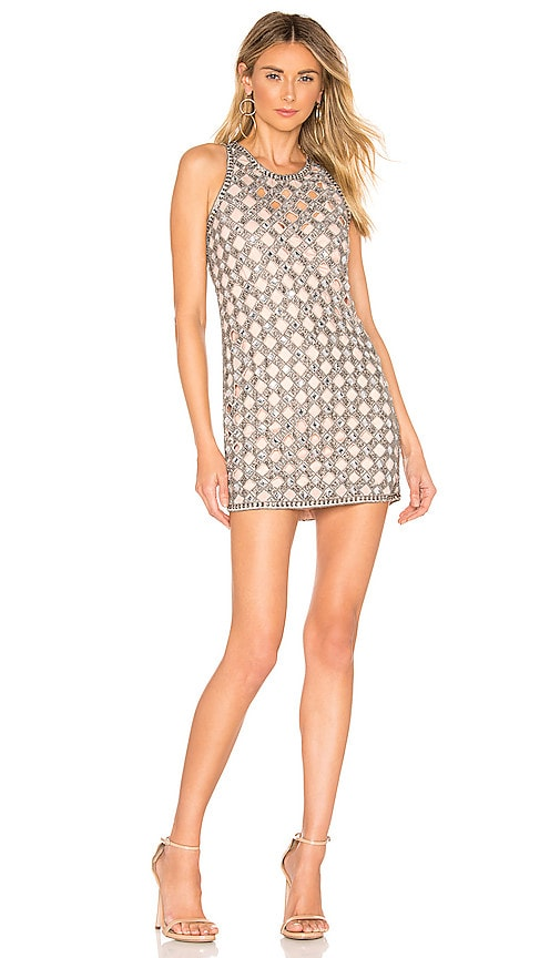 Travis Embellished Mini Dress
