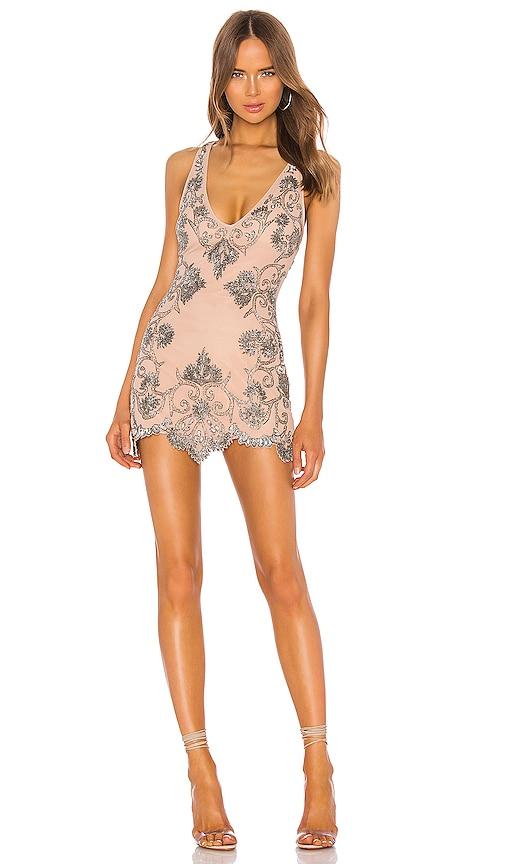 Rocca Embellished Mini Dress