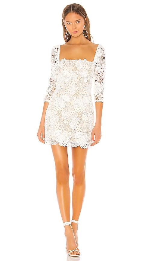X by NBD Tove Mini Dress in Ivory | REVOLVE