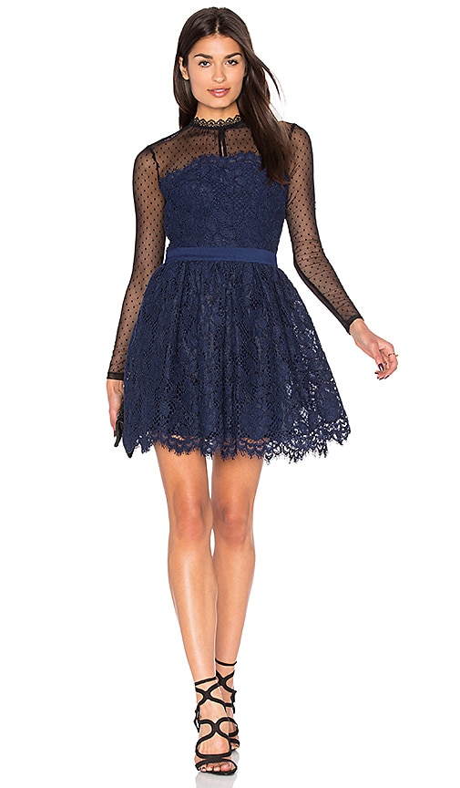 X by NBD Izzy Dress in Navy