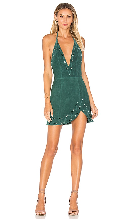 X by NBD Charlotte Dress in Green