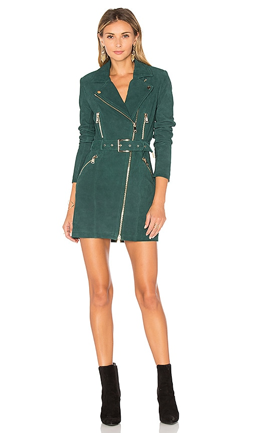 X by NBD Nicole Dress in Petrol Green | REVOLVE