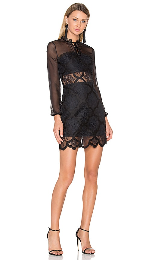 X by NBD Michelle Dress in Black