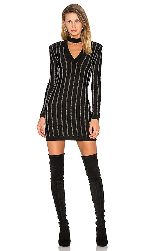 X by NBD Callie Dress in Black