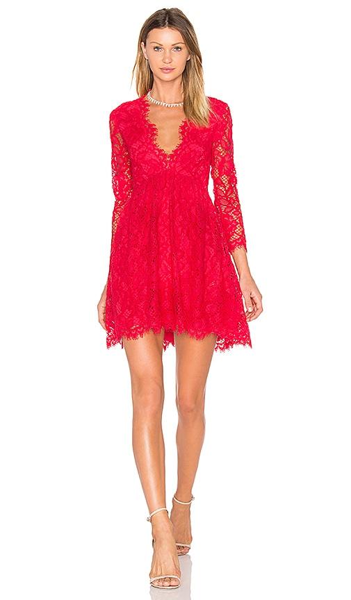 X by NBD Kellan Dress in Red