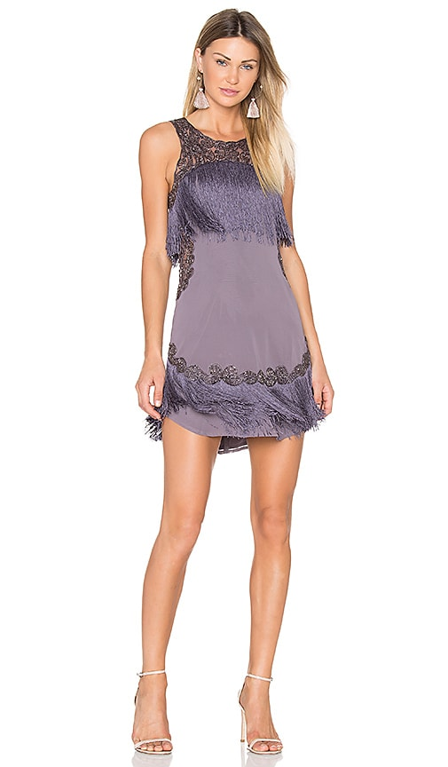 X by NBD Raven Dress in Mauve