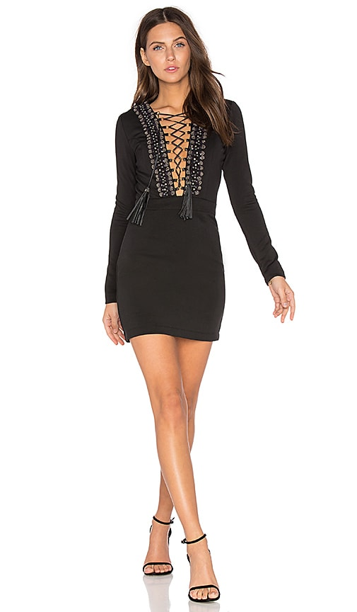 X by NBD Skye Dress in Black
