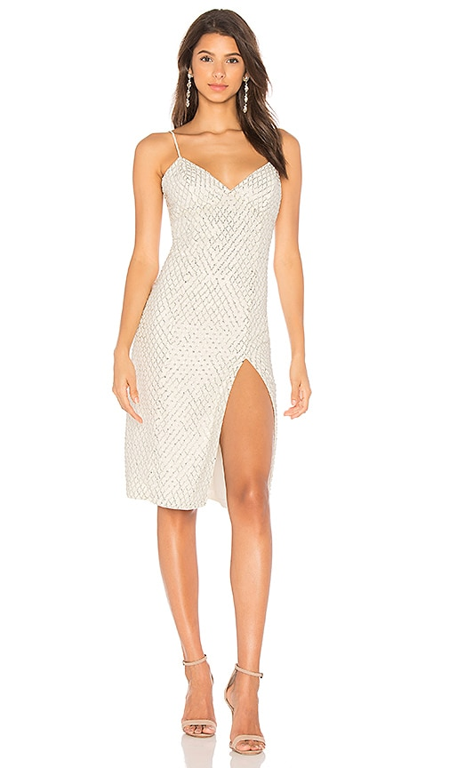 X by NBD Marissa Dress in Ivory