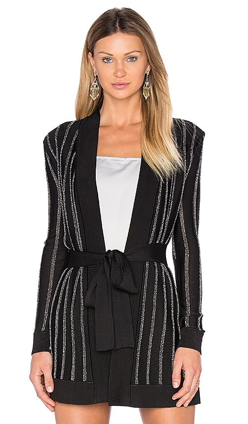 X by NBD Cassandra Cardigan in Black