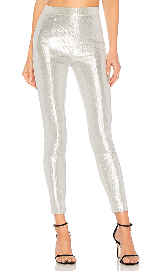 X by NBD Fever Pant in Metallic Silver