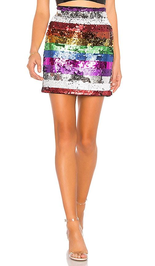 Meow Embellished Skirt