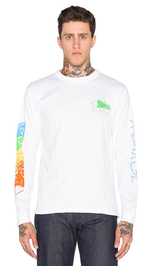 XLARGE 4 Colors OG Tee in White