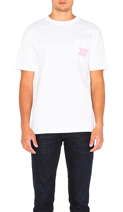 XLARGE Gorilla Cameo Pocket Tee in White