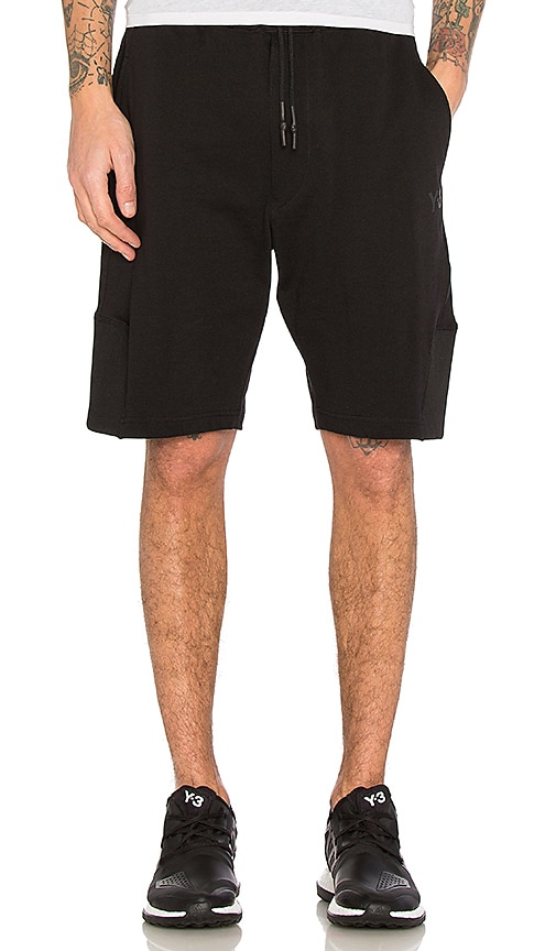 Y-3 Yohji Yamamoto Future Craft Shorts in Black