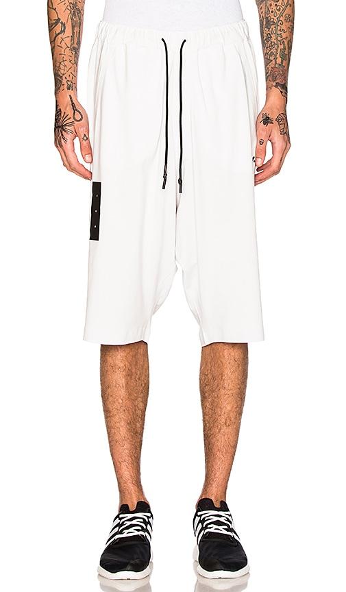Y-3 Yohji Yamamoto Skylight Shorts in White