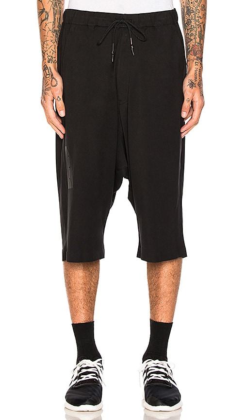 Y-3 Yohji Yamamoto Skylight Shorts in Black