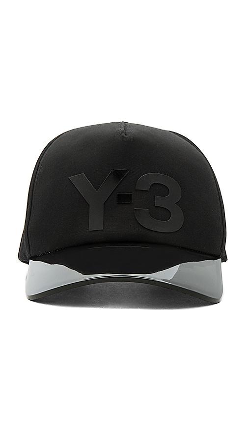 Y-3 Yohji Yamamoto Visor Cap in Black