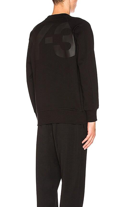 Y-3 Yohji Yamamoto Classic Sweatshirt in Black