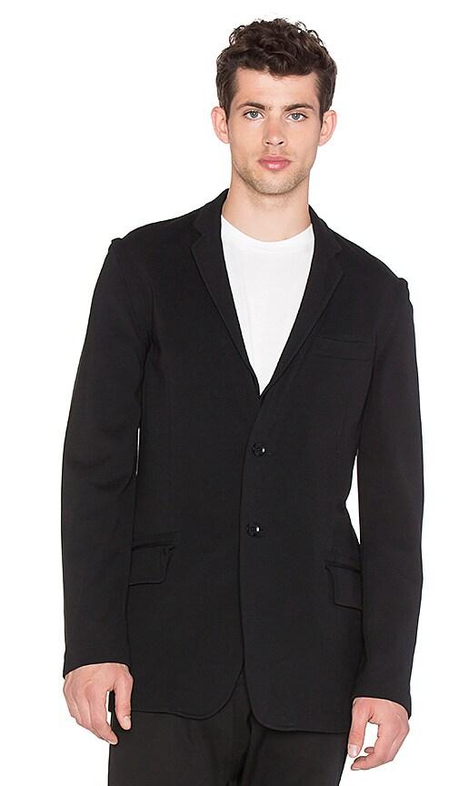 Y-3 Yohji Yamamoto Multizip Blazer in Black