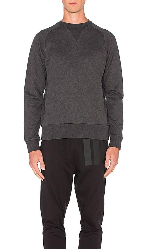 Y-3 Yohji Yamamoto Classic Sweatshirt in Grey