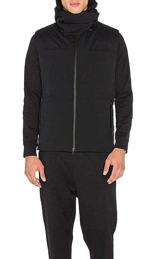 Y-3 Yohji Yamamoto Matte Down Vest in Black
