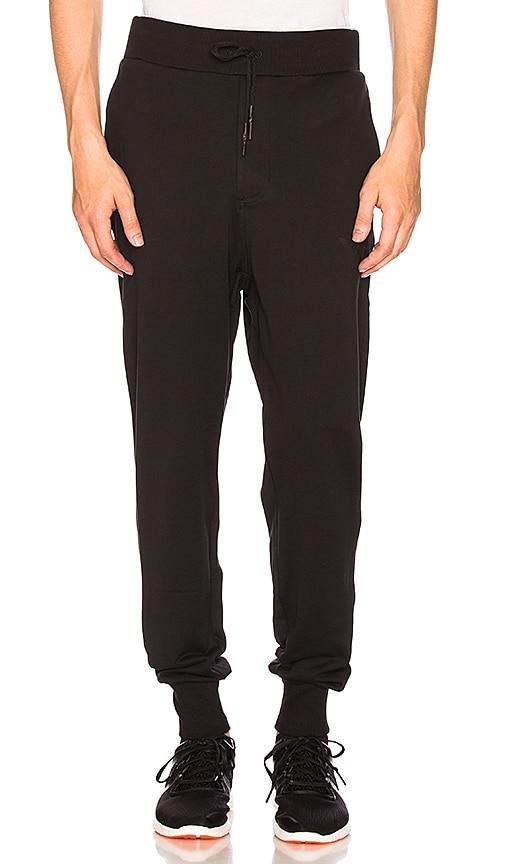 Y-3 Yohji Yamamoto Classic Cuff Pant in Black