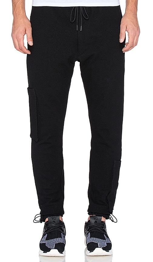 Y-3 Yohji Yamamoto Substance Pant in Black