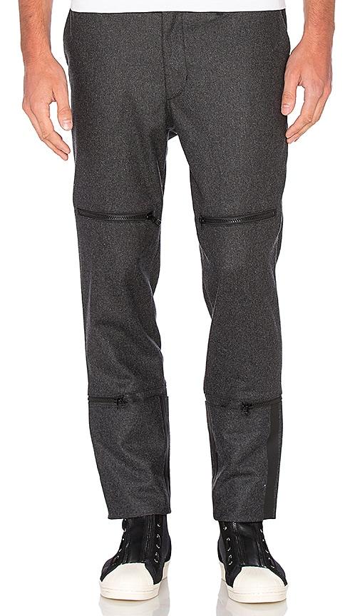 Y-3 Yohji Yamamoto FL Utility Pant in Grey
