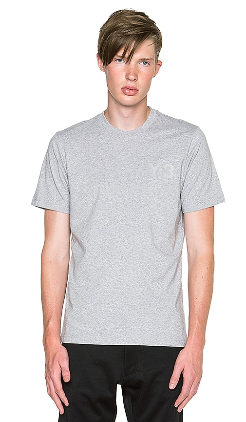 Y-3 Yohji Yamamoto Classic SS T Shirt in MGH