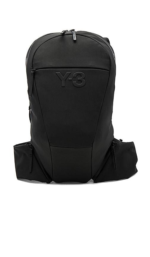 Y-3 Yohji Yamamoto Vest Backpack in Black