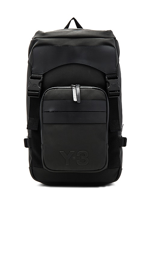 b8e5462a312 Y-3 Yohji Yamamoto Ultra Backpack in Black   REVOLVE