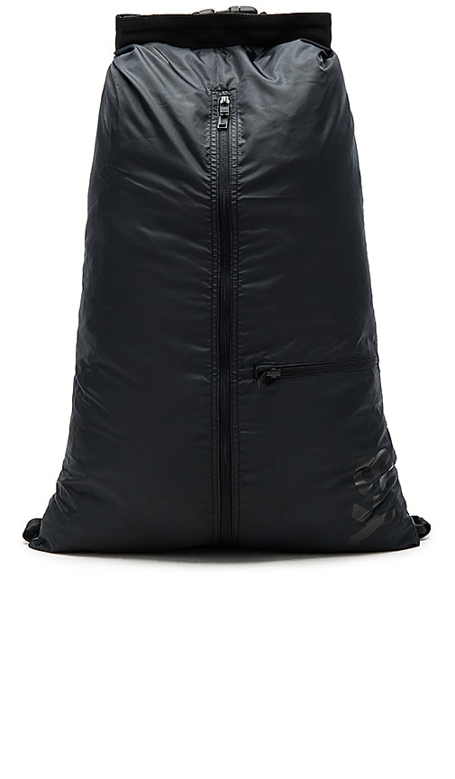 Y-3 Yohji Yamamoto Packable Backpack in Black