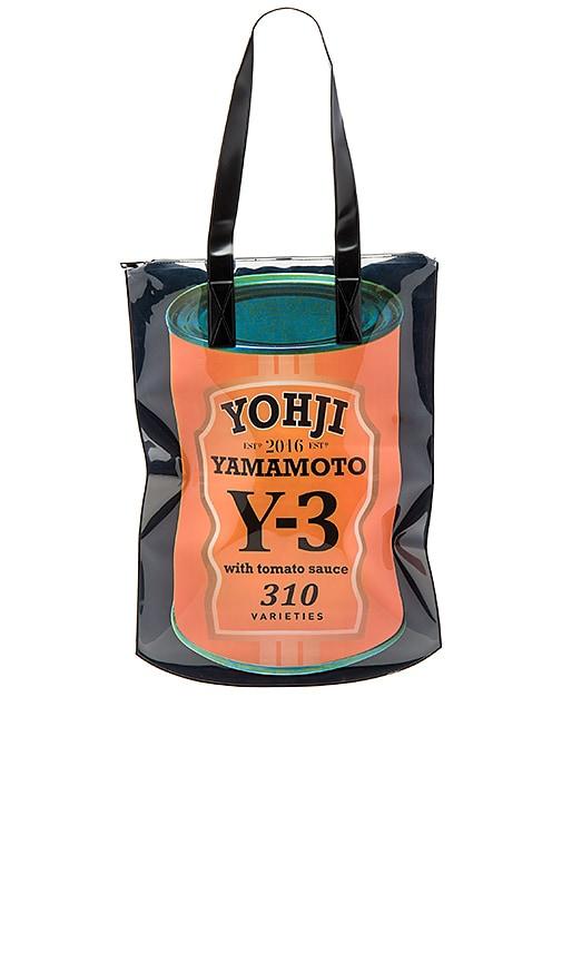 bf602409da Y-3 Yohji Yamamoto Cans Zipbag Tote in Multi