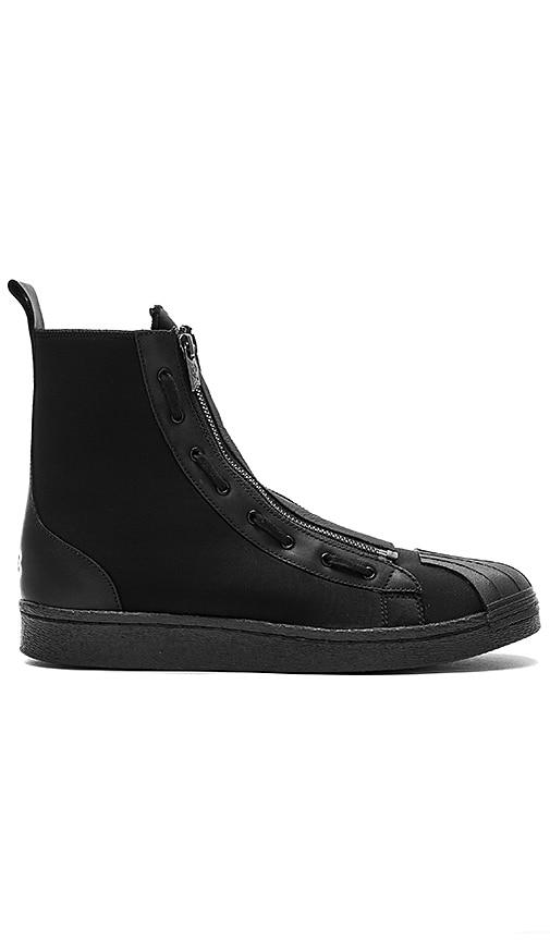 e53c73a994141 Y-3 Yohji Yamamoto Pro Zip in Core Black