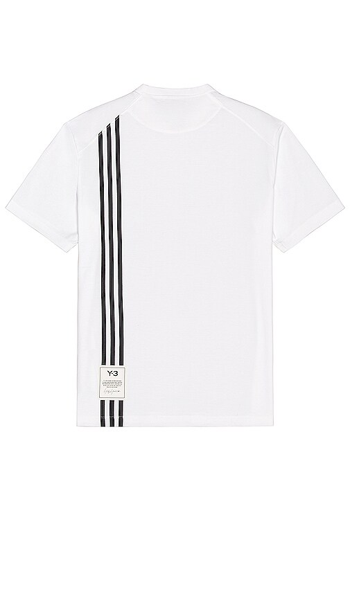 Y-3 Cottons 3 STRIPE TEE